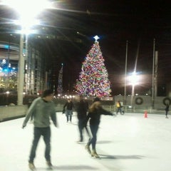 Photo taken at Rxr Ice Rink by Charles P. on 12/17/2011