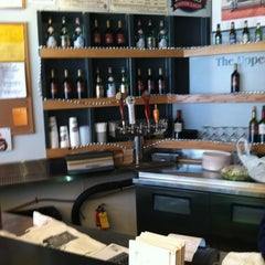 Photo taken at The Upper Crust Pizzeria by Andrew T. on 3/30/2012