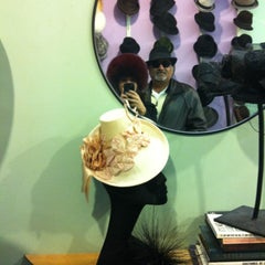 Photo taken at The Hat Shop by Asha S. on 2/18/2012