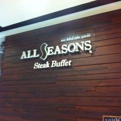 Photo taken at All Seasons Steak Buffet by yOdying j. on 6/4/2012