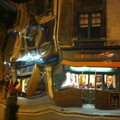 Photo taken at Keogh's Cafe by Radlets on 1/7/2012