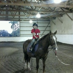 Photo taken at Equidream School of Horsemanship by Danielle F. on 10/7/2011