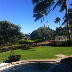 Photo taken at Exclusive Resorts - Pauoa Beach by Blake on 6/24/2012