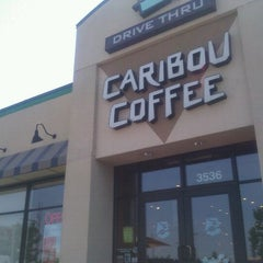 Photo taken at Caribou Coffee by Heidi G. on 7/1/2011