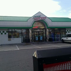 Photo taken at Hess Express by Matthew C. on 1/14/2012