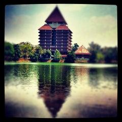Photo taken at Universitas Indonesia by Patria P. on 8/17/2012