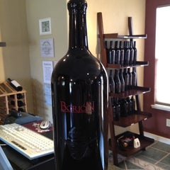 Photo taken at Borjon Winery by Stephanie B. on 2/26/2012