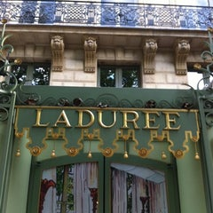 Photo taken at Ladurée by Johan P. on 7/18/2012