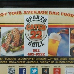 Photo taken at Catch 22 Sports Grill by Stacey M K. on 11/25/2011