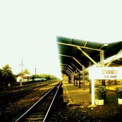 Photo taken at สถานีรถไฟ ปากช่อง by Phanuwat K. on 10/30/2011