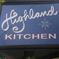 Photo taken at Highland Kitchen by Joan M. on 8/19/2012