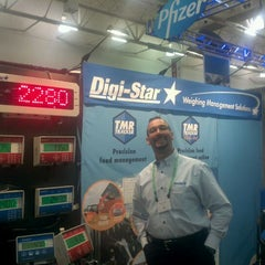 Photo taken at World Dairy Expo by Cesar G. on 10/5/2011