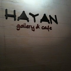 Photo taken at Hayan gallery cafe' by Note 2. on 9/22/2011