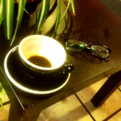 Photo taken at Valhalla Coffee Roasters by Andrew E. on 1/24/2012