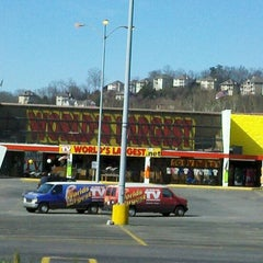 Photo taken at World's Largest As Seen on TV Store by Barbara S. on 2/26/2012