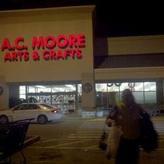 Photo taken at A.C. Moore Arts & Crafts by James B. on 12/11/2011