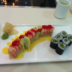 Photo taken at Fusion Fire Asian Fondue & Sushi Bar by Emily M. on 11/1/2011