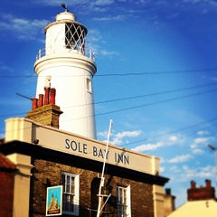 Photo taken at Southwold Lighthouse by Laurence E. on 8/12/2012