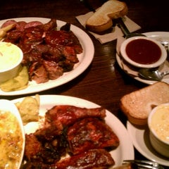 Photo taken at Fiorella's Jack Stack Barbecue by Amanda F. on 10/23/2011