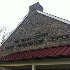 Photo taken at Bucks County Visitor Center by Paul B. on 2/29/2012
