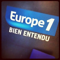 Photo taken at Europe 1 by Ludoc on 7/5/2012