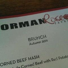 Photo taken at Norman Rose Tavern by Mecaela M. on 10/2/2011