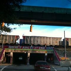 Photo taken at Krog Street Tunnel by Judy K. on 8/16/2011