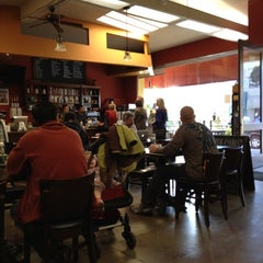 Photo taken at The Novel Cafe by Eric F. on 1/21/2012