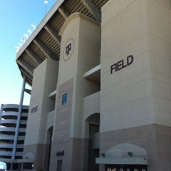 Photo taken at Kyle Field Zone Plaza by Austin S. on 11/26/2011