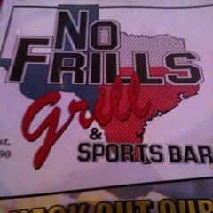 Photo taken at No Frills Grill & Sports Bar by Jeremy W. on 9/3/2011