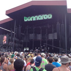 Photo taken at Bonnaroo Music & Arts Festival by Christine on 6/11/2012
