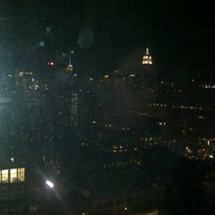 Photo taken at The Living Room at The Standard, New York by Marta F. on 12/4/2011