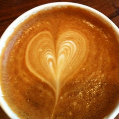 Photo taken at The Cup Espresso Café by Kathleen W. on 6/4/2012