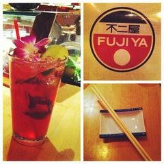 Photo taken at Fuji Ya by Jen B. on 12/3/2011