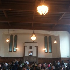 Photo taken at South Dining Hall by Lisa L. on 4/15/2011