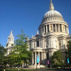 Photo taken at St Paul's Churchyard by alan w. on 8/26/2012