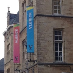 Photo taken at Vlerick Business School by Michel V. on 9/1/2012
