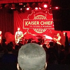 Photo taken at The Showbox by Libby Q. on 3/24/2012