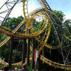 Photo taken at Loch Ness Monster - Busch Gardens by CoasterFusion on 5/18/2012