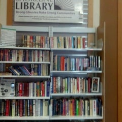 Photo taken at KCLS Shoreline Library by Anthony S. on 5/8/2012