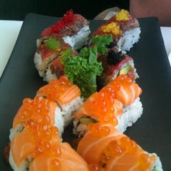 Photo taken at Sushi King by Brett Y. on 9/2/2012