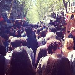 Photo taken at Rastro de Madrid by David P. on 4/8/2012