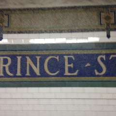 Photo taken at MTA Subway - Prince St (N/R) by Olivier K. on 6/9/2012