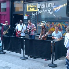 Photo taken at Ain't Nothin But...The Blues Bar by Steve B. on 7/22/2012