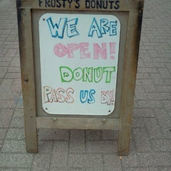Photo taken at Frosty's Donuts & Coffee Shop by Kevin G. on 7/26/2012