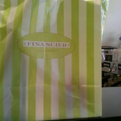 Photo taken at Financier Patisserie by Tyrus T. on 3/30/2012