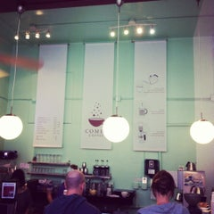 Photo taken at Comet Coffee by Lance Y. on 8/14/2012