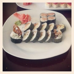 Photo taken at Sushi on McKinney by Michael P. on 6/1/2012