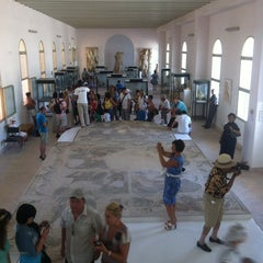 Photo taken at Carthage National Museum I Le musée national de Carthage I المتحف الوطني بقرطاج by Sergey I. on 7/25/2012