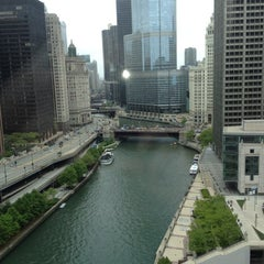 Photo taken at Sheraton Chicago Hotel & Towers by Brian H. on 5/5/2012